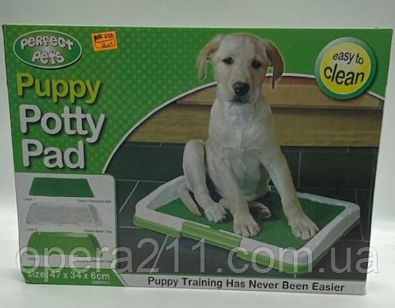 Туалет для Собак Травка PUPPY POTTY PAD / ART-0136 (12шт)