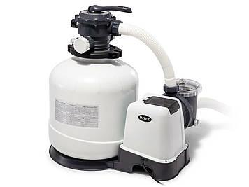 Фильтр-насос электрический для механической очистки воды в бассейне Песчаный фильтр-насос для очистки бассейна