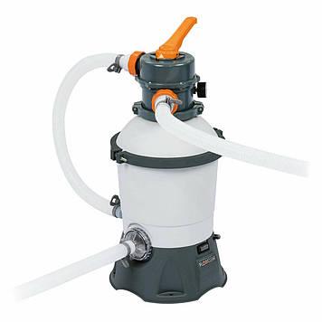 Песчаный фильтр-насос для очистки воды в бассейне Электрический фильтр-насос для бассейнов песчаного типа
