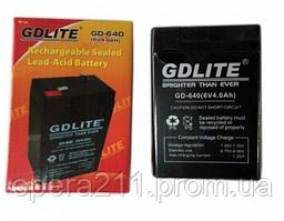 Акумулятор GD-LITE GD-640 (20шт)