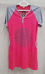 Туника-платье женская хб