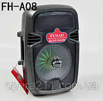 Колонка FUHAO FH-A08 BT (8'BASS+1MIC) (1шт)