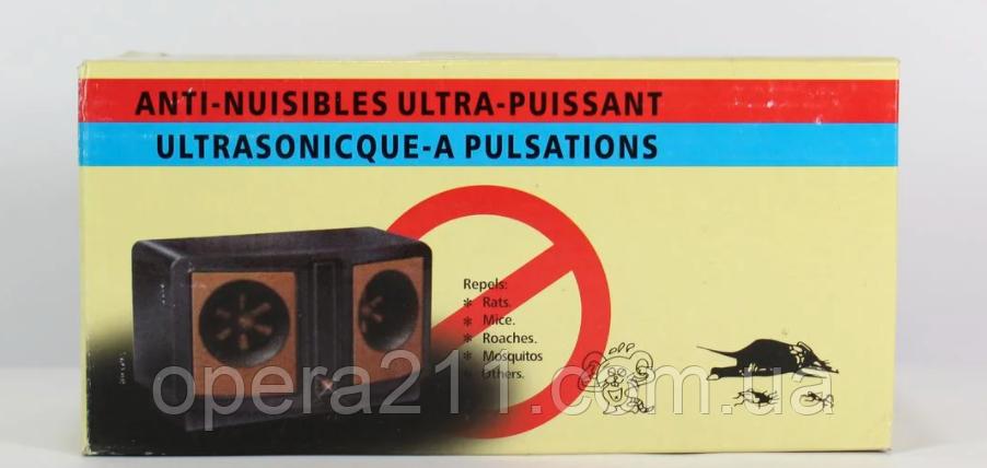 Отпугиватель мышей DUAL SONIC / R107 (60шт)