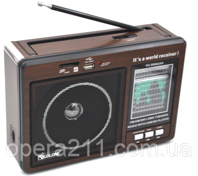 Радио GOLON RX-9966UAR (16шт)