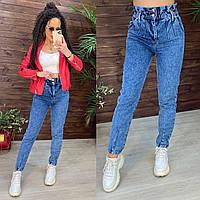 Жіночі джинси сині мом, фото 1