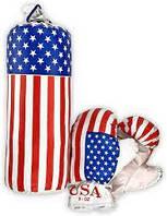 """Боксерский набор """"Америка"""" 34х13 см для детей от 4 лет Danko Toys Маленький"""