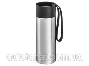Термокружка Mercedes-Benz To-Go Cup, 0.35 l, silver-coloured, оригинал (B66955013)