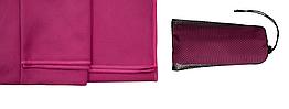 Полотенце из микрофибры Tramp 65 х 135 см TRA-162-dark pink темно розовое