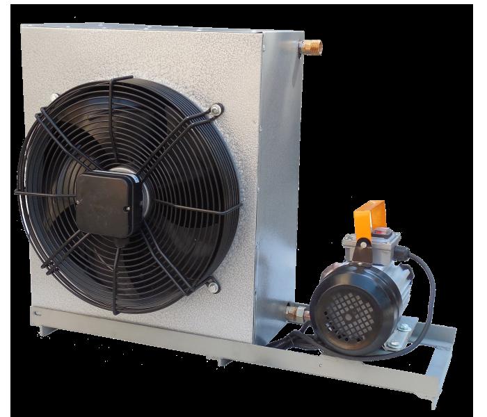ВМО-10 Маслоохолоджувач 0,14 кВт для дотримання оптимального температурного режиму