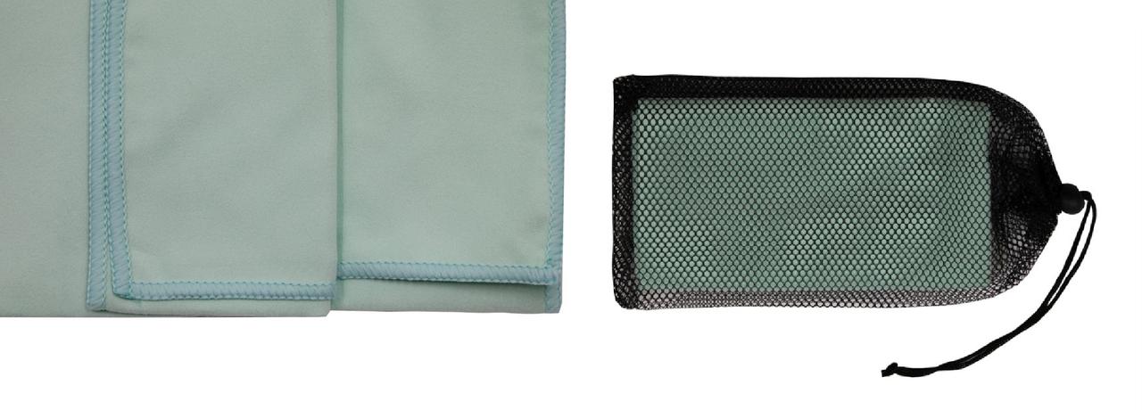 Рушник з мікрофібри Tramp 65 х 135 см TRA-162-turquoise бірюзовий