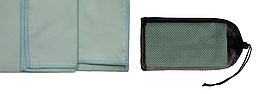 Полотенце из микрофибры Tramp 65 х 135 см TRA-162-turquoise бирюзовый