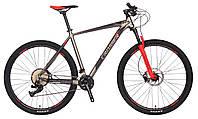 """Велосипед Crosser Grim*19 26"""" гірський алюмінієвий сірий, фото 1"""