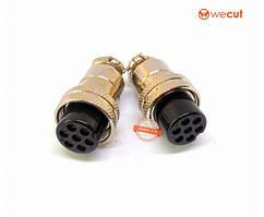 Роз'єм DF-20 кабельний, гніздо, 7pin