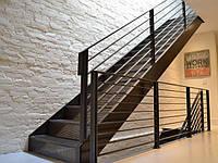 Металеві сходи, перила, сходові марші, фото 1