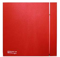 Малошумний вентилятор Soler&Palau SILENT-100 CRZ RED DESIGN-4C