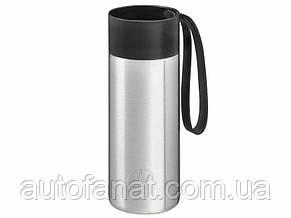 Термокружка Mercedes-Benz To-Go Cup, 0.5 l, silver-coloured, оригинал (B66955014)