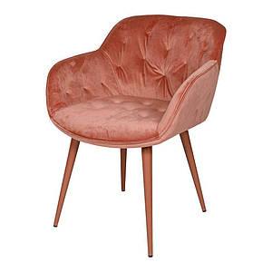 Обеденное кресло VIENA (Виена) терракот велюр от Nicolas