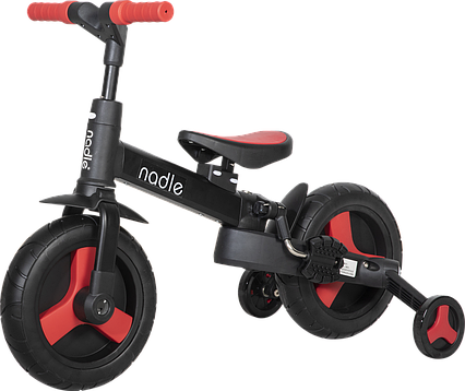 Дитячий велосипед трансформер 5 в 1 червоний Nadle SL-A6