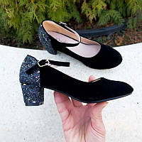 Туфлі для дівчинки на підборах 28 29 31 32