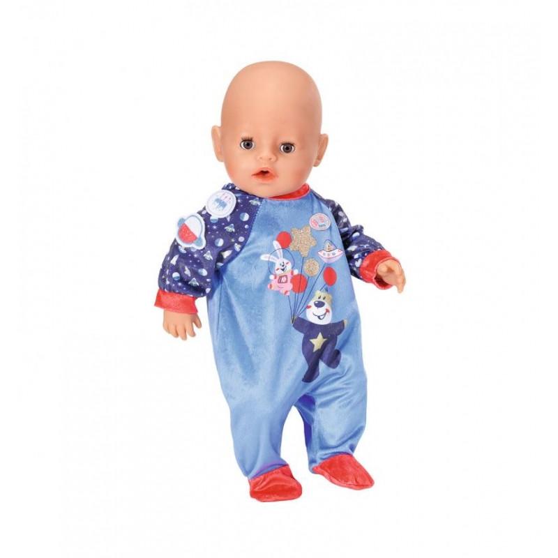 """Одежда для куклы Беби Борн - Праздничный комбинезон """"День Рождения"""" (синий), Zapf Creation 3+ (831090-2)"""