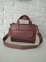 """Женская повседневная сумка """"Изольда 2 Dark Pink """", фото 1"""