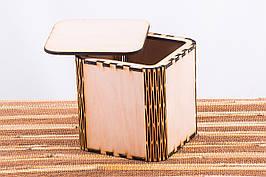 Коробка подарункова з логотипом компанії 110х110х110 tty-f000021