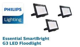 Світлодіодні прожектори Essential SmartBright G3 Philips (матеріал корпусу - Алюмінієвий сплав)