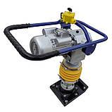 Вібротрамбовка (Вибронога) електрична HCD-90, фото 5