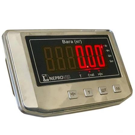 Весы товарные электронные Днепровес ВПД-608ДЕ (300 кг), фото 2