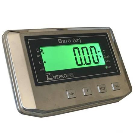 Ваги товарні електронні Днепровес ВПД-608ДС (600 кг), фото 2