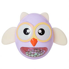 Іграшка-неваляшка G-A027 сова (Фіолетова)