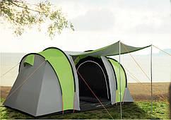 Палатка 4-ох местн. 3000 MM 2 спальни + ТАМБУР Abarqs Gobi