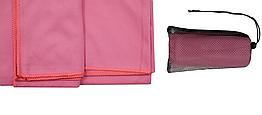 Полотенце из микрофибры Tramp 65 х 135 см TRA-162-pink розовый