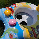 Надувной круг Ходунки с навесом  (#56590NP), фото 3