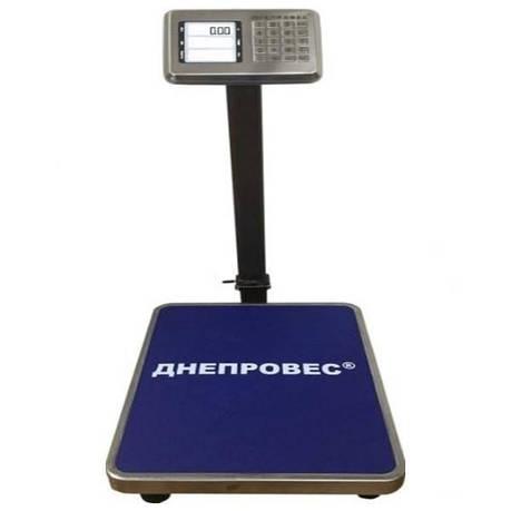 Ваги товарні електронні Днепровес ВПД-405Л (300 кг), фото 2