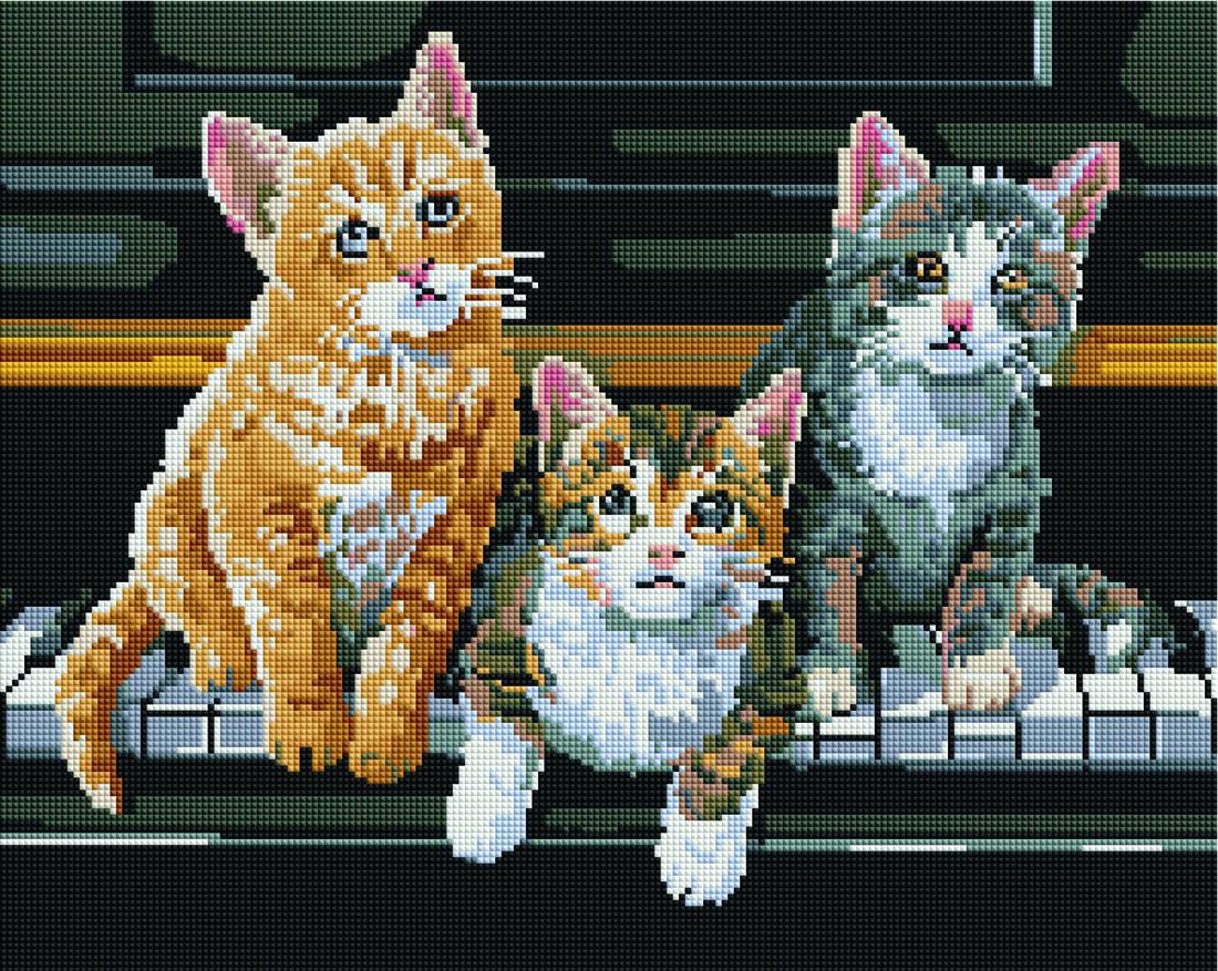 Грайливі кошенята