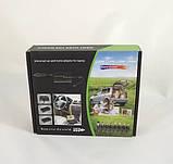 Автомобільна зарядка для ноутбуків універсальна зарядка для ноутбука 12В/220В 120Вт 8 насадок, фото 5