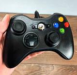Джойстик для XBOX 360 провідний геймпад, фото 3