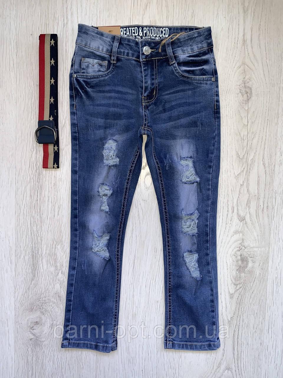 Джинсовые брюки  для мальчика, Setty Koop , 4-12 рр.