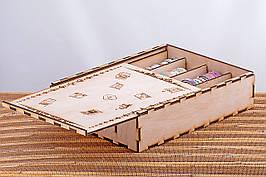 Коробка подарункова з логотипом компанії 200х226х60 tty-f000022