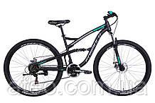 "Велосипед ST 29"" Formula SPARK AM2 DD рама-18"" чорно-сірий"