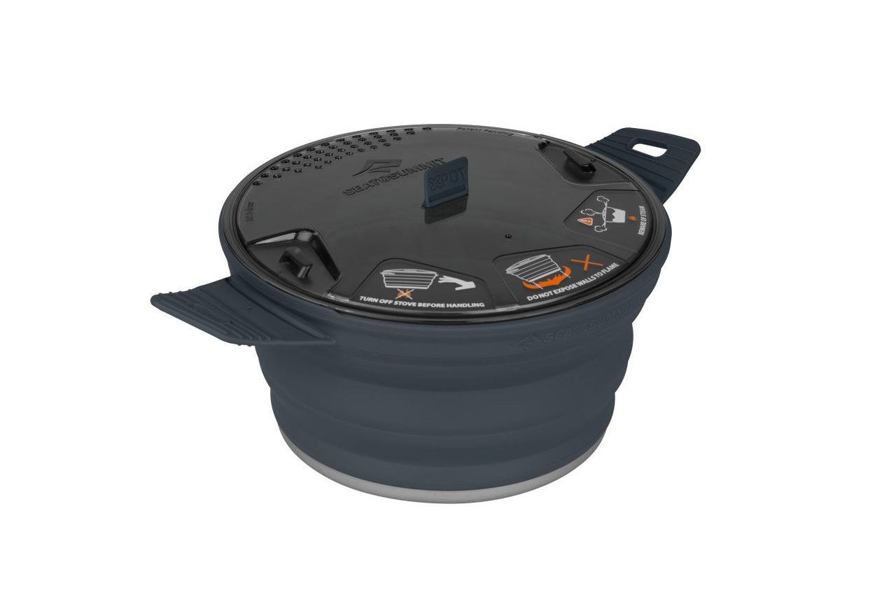 Каструля складана Sea To Summit X-Pot 2.8 L Charcoal