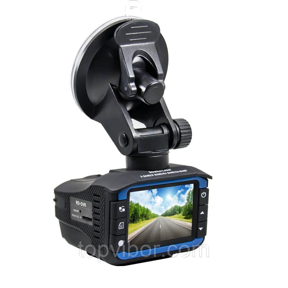 Видеорегистратор с антирадаром DVR RADAR 2 in 1 VG, антирадар с видеорегистратором   відеореєстратор (VT)