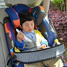 Дитячий універсальний автомобільний столик для автокрісла Bugs