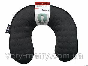 Bugs® Автомобильная детская подушка на шею (черный)