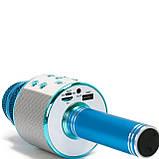 Беспроводной микрофон для караоке Wester WS-858 с динамиком и Bluetooth, фото 5