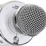 Беспроводной микрофон для караоке Wester WS-858 с динамиком и Bluetooth, фото 7