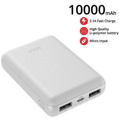 Універсальні мобільні батареї GOLF Power bank GOLF G62 10000mAh