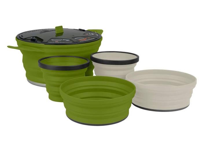 Набір посуду Sea To Summit X-Set 31 Mix Color 2, фото 2