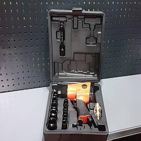 Гайковерт пневматичний 1/2 з ударними головками 350N/m;7000об/хв. AEROPRO RP7808